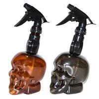 500ml Skull Shape Hairdressing Spray Bottle Hair Styling Water Mist Sprayer
