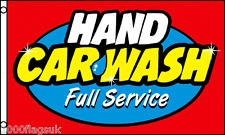 HAND CAR WASH Full Service Shop Sign Advertising POS 5'x3' Flag !