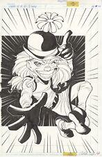 Mxyzptlk original art by Adam Warren, Legends of the DCU 3D Gallery pg 12, 1999