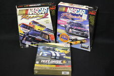 Lot of 3 PC-CD ROM Games: NASCAR Racing 1 & 2 Big Boxes, Test Drive 5 NIB!