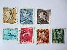 Briefmarken Belgien alt  gestempelt