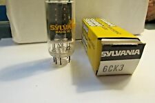 Sylvania 6CK3  Electronic Vaccum Tubes  New- Old Stock  FREE SHIPPING