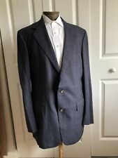 Men's Polo Ralph Lauren Navy Blue Pin Striped 2 Pc Suit - Excellent Condition