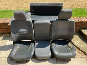 land rover defender front seats used