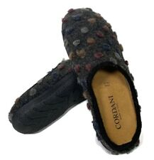 Cordani Mercy Vera Pelle Cozy Women's Indoor Outdoor Wool Upper Slippers Shoes 7