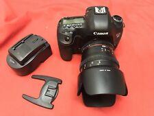Canon EOS 5D Mark III 22.3MP Digital SLR Camera - Black w/Rokinon 50mm T1.5 Lens