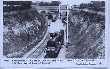 Pamlin repro photo postcard M859 Hove Tunnel Brighton Sussex