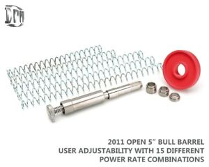 "DPM Recoil Spring System 2011 OPEN 5"" BULL Barrel 9 User Adjustable Settings"