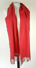 """BURBERRY LONDON Womans Pink LAMBSWOOL/MERINO/CASHMERE SCARF - XL - 72"""" x 12"""""""