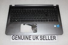 Tested HP Pavilion 15-AB291na Palmrest Upper Cover UK Keyboard grey/silver