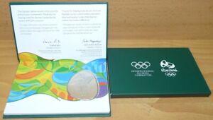 Olympic Games Tokyo 2020 VISA pin & participant medal in box Rio 2016