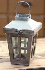 LANTERN Wood Farmhouse Candle Light WEDDING Lantern Sidewalk Lantern Distressed
