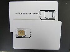 3G MOBILE PHONE TEST CARD WCDMA for CMU200 SIM Card Micro SIM card