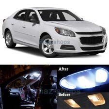 13Pcs Xenon White Interior LED Lights Package Kit for 2013-2015 Chevy Malibu MP