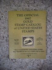 The Official 1967 Gold Stamp Catalog of United States Stamps