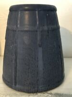 Ephraim Faience Pottery - Bungalow Vase #914 Cobalt