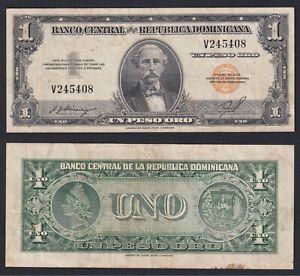 Republica Dominicana 1 peso oro 1947(55) BB/VF  C-08