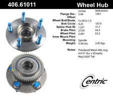 Wheel Bearing and Hub Assembly-Premium Hubs Rear fits 98-03 Ford Windstar