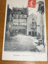 Flavigny Maison du XVe siècle carte postale ancienne Bourgogne Côte d'Or Auxois