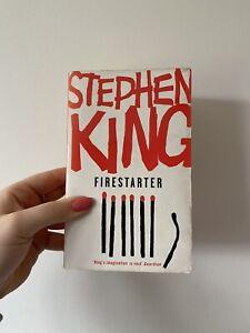 Firestarter - Stephen King / Paperback **GC Rainbow Hodder 2007!!**