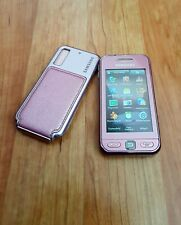 Samsung Star GT-S5230 in Soft Pink with Pouch