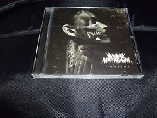 Anaal Nathrakh - Vanitas NEW CD MISTRESS BENEDICTION NAPALM DEATH FUKPIG FROST