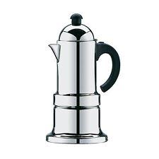 CILIO Espressokocher KONTESSA für 4 Tassen Edelstahl INDUKTION