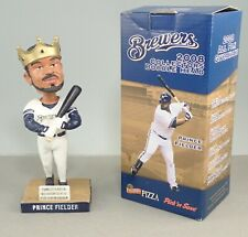 2008 Milwaukee Brewers Prince Fielder Bobblehead In Box