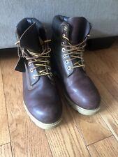 Timberland AF 6'' Inch Premium Hazel Dark Brown Men 8.5 Leather Ankle Boots