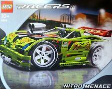 Rarität LEGO 8649, RACERS NITRO MENACE ca. 15 Jahre alt, unbebaut in Verpackung