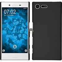 """Black Slim Matte Hard Case Cover Skin Back For Sony Xperia X Compact F5321 4.6"""""""