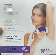 Silk'n Flash & Go Express Hair Removal permanent Results Unit 300,000 Pulses !!!