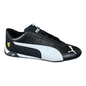 Puma SF R-cat Ferrari Black & White Sneakers 339937-02 Mens 11.5