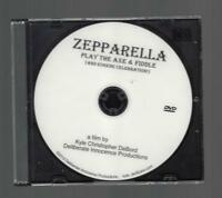 original dvd ZEPPARELLA PLAY THE AXE & FIDDLE Eugene Celebration September 2009