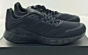Mens Adidas Duramo SL Black / Black Athletic Shoes FW7393 Sizes 6.5 to 14