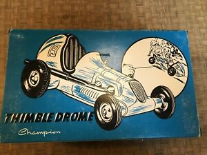 Champion Thimble Drome Midget Race Tether Car Replica Nylint Limited Edition