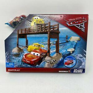 Mattel Disney Pixar Cars 3 Splash Racers Beach Blast Playset Lighting Queen Set