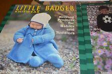 Little Badger Knitwear Babies & Toddlers Knitting Pattern Book