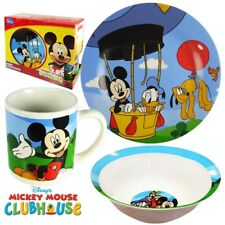 Disney Mickey Mouse Clubhouse 3-Piece Dinnerware Set by RSquared