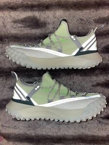 New! Size 11.5 NIKE ACG Mountain Fly Low US Sea Glass / Lime Blast