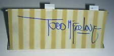SDCC 2015 Walking Dead Dale's RV Awning Canopy Autographed by Todd McFarlane