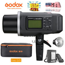 Us Godox Ad600Bm Outdoor Strobe Flash Light 1/8000s 2.4G+Free Case Bag Reflector