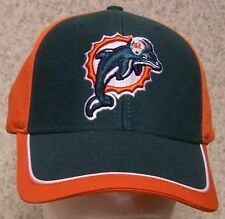 Embroidered Baseball Cap Sports NFL Miami Dolphins NEW 1 hat size fits all