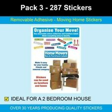 Pack 3 - 287 Home Moving Stickers