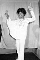 Little Richard B/W 8x10 Glossy Photo