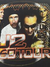2011 U2 Bono 360 Tour Featuring Black Eyed Peas Adult Rock N Roll R&B t-shirt M