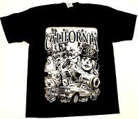 CALI LOWRIDER T-shirt California Republic Urban Streetwear Adult Mens Tee New
