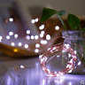 2M 20 LED BATTERY OPERATED COPPER STRING FAIRY PARTY XMAS WEDDING LIGHT OUTDOOR