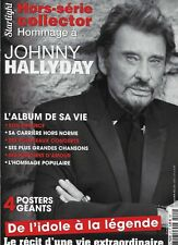 JOHNNY HALLYDAY MAGAZINE STARLIGHT HORS-SERIE COLLECTOR 4 POSTERS GEANTS  NEUF