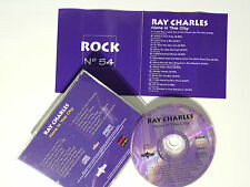 """RAY CHARLES """"ALONE IN THIS CITY"""" EXCLUSIVE SPANISH CD FROM """"ROCK"""" COLLECTION"""